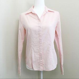 Women's Pale Pink Button Down Shirt